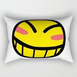 Cowboy Bebop - Hacker Smile Rectangular Pillow