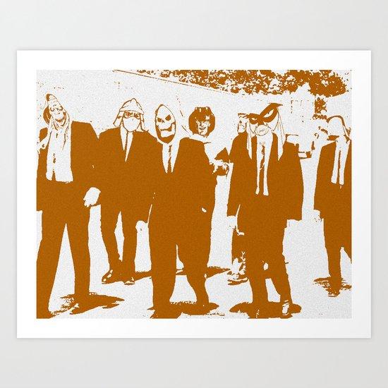 Reservoir Awesome Art Print