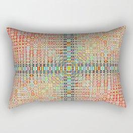 944 + sinc(i^2 × n + j^2 × k) × 633331 Rectangular Pillow