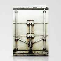 metal Stationery Cards featuring metal by alina vasile
