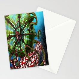 Striped Kuma Beast Stationery Cards