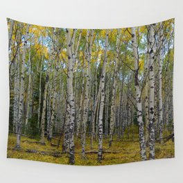 Trembling Aspen's in the Fall, Jasper National Park Wall Tapestry