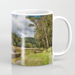 Pontoon on the Barron River Coffee Mug