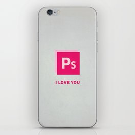 Ps I love you iPhone Skin