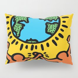 Homage to Keith Haring Pillow Sham