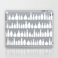Bottles Grey Laptop & iPad Skin