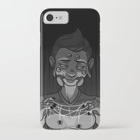 black widow iPhone & iPod Cases featuring Widow by miseryguts