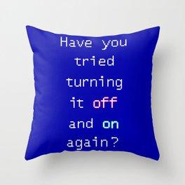 Tech suppor Throw Pillow
