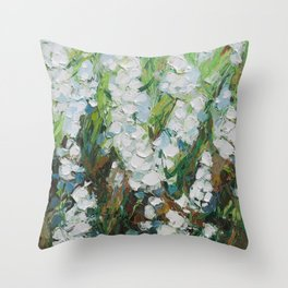 Wild Squill Throw Pillow