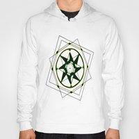 compass Hoodies featuring Compass by Isa Gutierrez