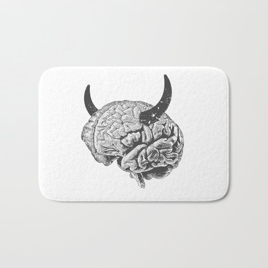 Devil's Haircut Bath Mat