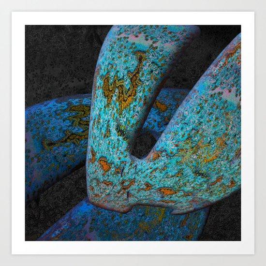 Artifactoids Art Print