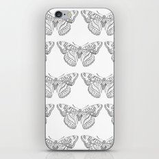 Butterfly dots iPhone & iPod Skin
