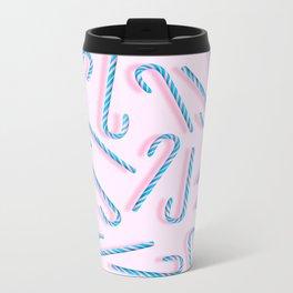 Candy Sticks Metal Travel Mug