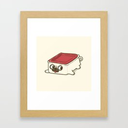 Pupperware Framed Art Print
