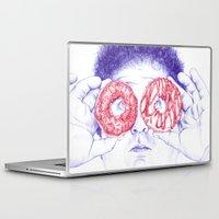 hero Laptop & iPad Skins featuring Hero by Bomburo