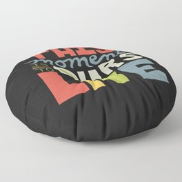 This Moment Floor Pillow