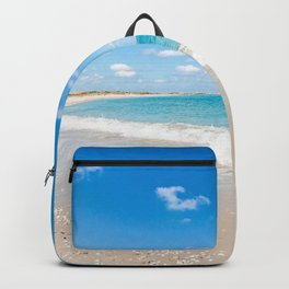 Turquoise Seascape Backpack