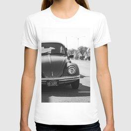 Hermosa Beach Surf Bug, Black and White Photography Print, Beach Art, South Bay Los Angeles Art T-shirt
