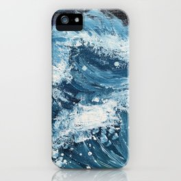 On Another Wave iPhone Case