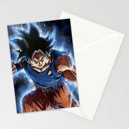 Super warrior z Stationery Cards
