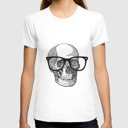 I die hipster - skull T-shirt