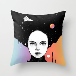 If You Were My Universe Throw Pillow