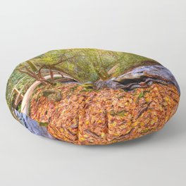 Smoky Mountains Floor Pillow