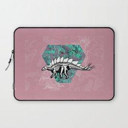 Stegosaur Fossil Laptop Sleeve