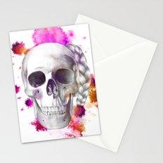 Braided Skull Stationery Cards