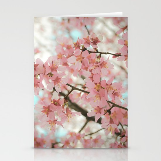 Reverence (Cherry Blossoms) Stationery Cards