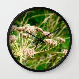 Flower I Wall Clock