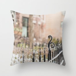 Chicago Details Throw Pillow