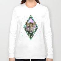 safari Long Sleeve T-shirts featuring ▲SAFARI WAVES▲ by Kris Tate