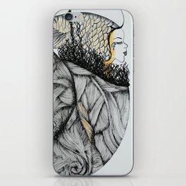 Mujer del Mar . Sea Woman. #1 iPhone Skin