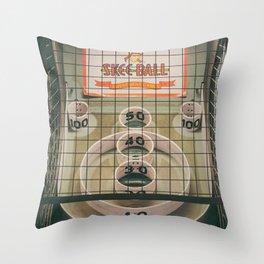 Skee Ball Game Throw Pillow