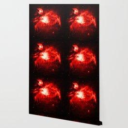 Orion NeBULA : Red Wallpaper