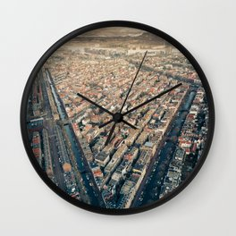 Imperfect Symmetry Wall Clock
