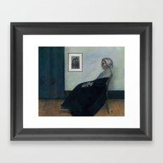Norman's Mother Framed Art Print