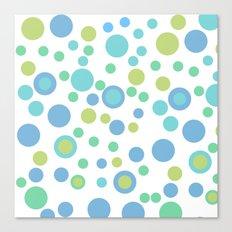 Circular Pastel Vector Canvas Print