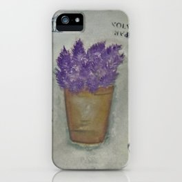 Lilas iPhone Case