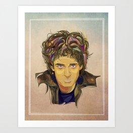 Gustavo Cerati - ArtVector Art Print