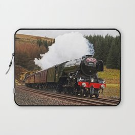 Flying Scotsman at Blea Moor Laptop Sleeve