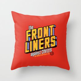 The Frontliners 1 Throw Pillow