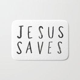 Jesus Saves Bath Mat