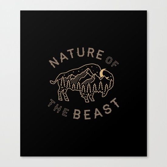Nature of the Beast Canvas Print