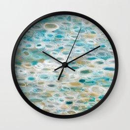 Shimmering Sea Wall Clock