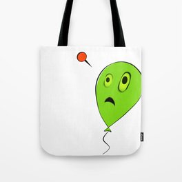 Threatened Balloon Tote Bag