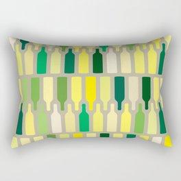 wine bottles pattern Rectangular Pillow