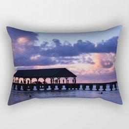 Hanalei Pier Rectangular Pillow
